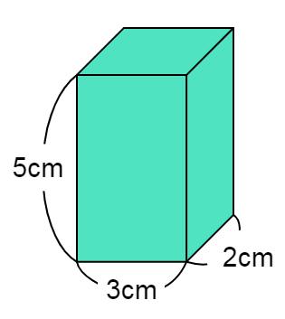 直方体と立方体の体積の問題①