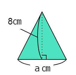 「三角形の面積の求め方」を表す文字の式