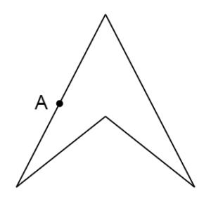 線対称な図形②