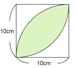 円の面積の問題3