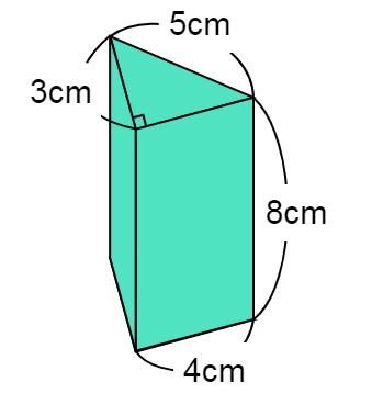 立体の体積の問題①