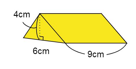 立体の体積の問題②
