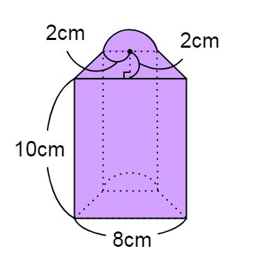 複雑な立体の体積の問題